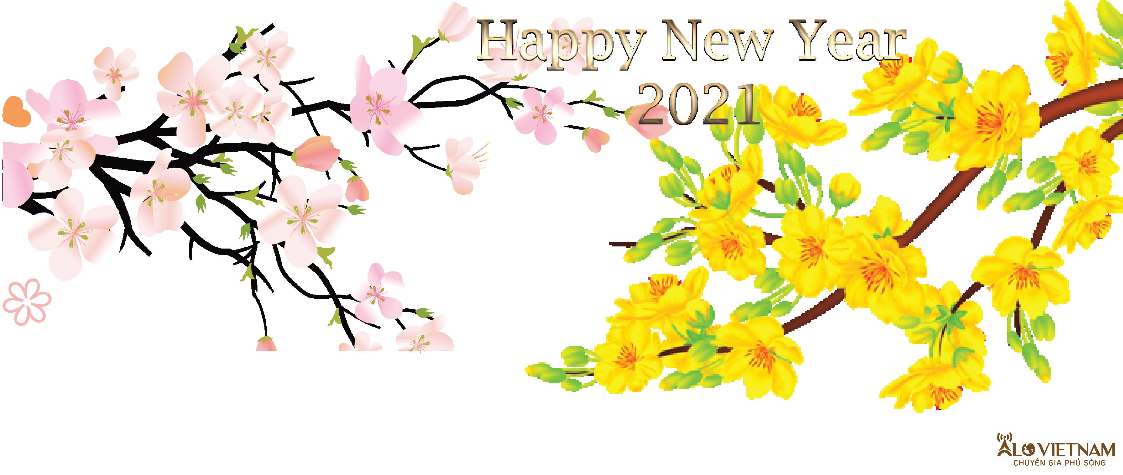Công ty Alo Việt Nam chúc mừng năm mới